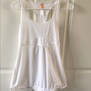 White Lucy tank